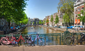 Short Spring and Easter cruise breaks from Amsterdam through Holland